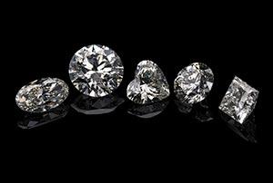 輝き方にも違いがあります ダイヤモンドの主なカット方法