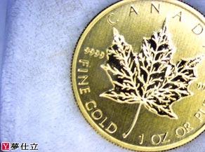 メープルリーフ1オンスコイン
