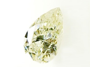13ctのドロップ型ダイヤモンドのルース リフォーム前