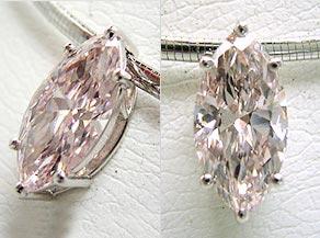 8ctのピンクダイヤモンドのルース(裸石) リフォーム後