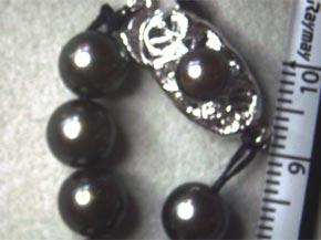 黒真珠のネックレス リフォーム前