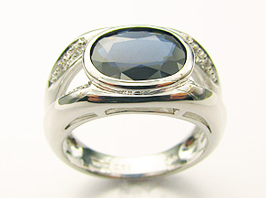 トルマリンの指輪