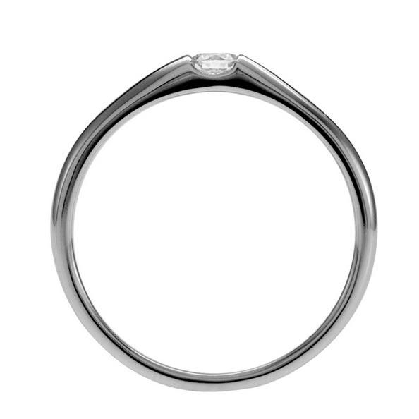 シンプルな埋め込みタイプのリング