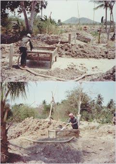 土砂の洗浄と選鉱