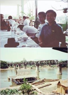 映画「戦場にかける橋」で有名なクエイ川橋