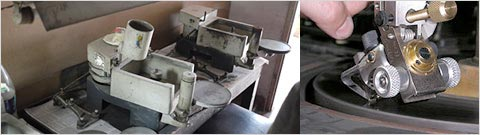 トラディショナルな研磨機械