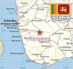 鉱山の大国、スリランカ