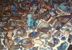 ボルダーオパールの原石